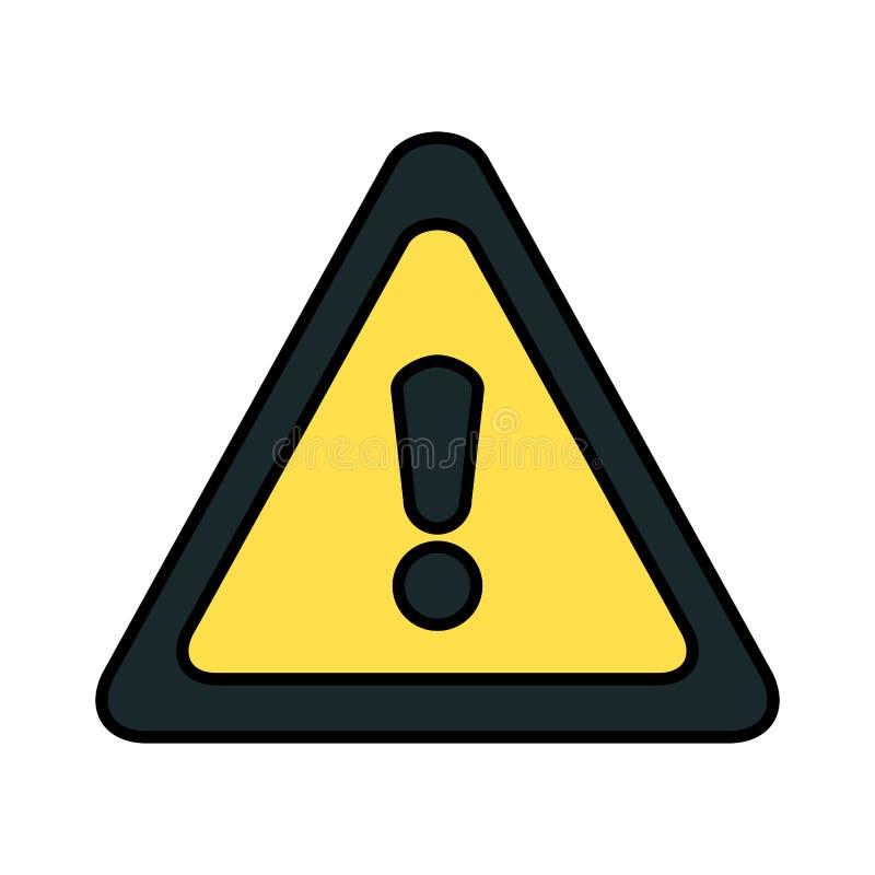 Бдительный значок символа треугольника бесплатная иллюстрация