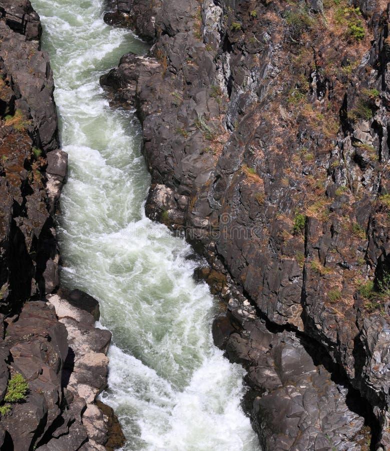 бега реки gorge стоковые фото
