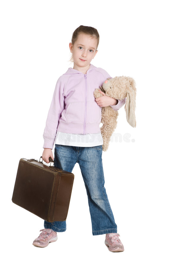 беглец ребенка стоковое изображение rf