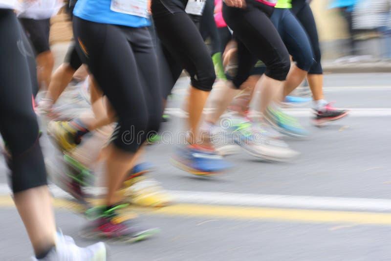 бегунки ontario ottawa марафона Канады стоковая фотография