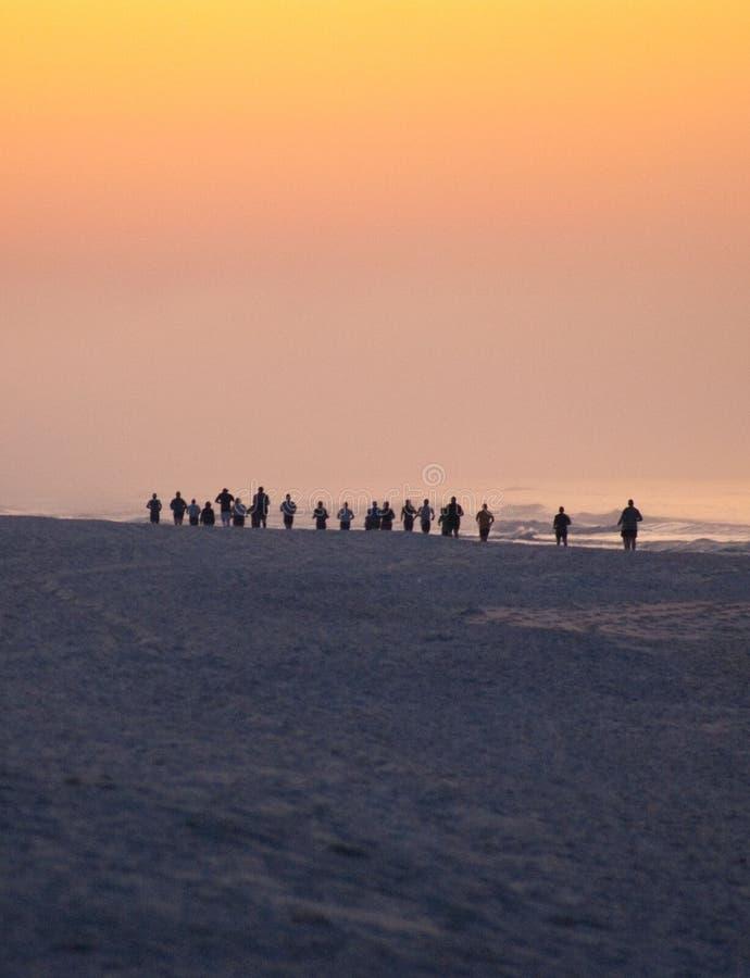 бегунки ontario ottawa марафона Канады стоковое фото rf