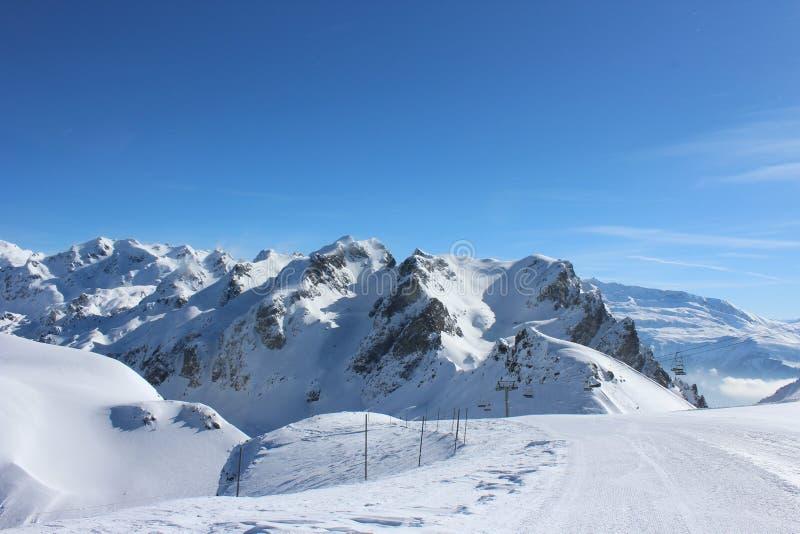 Бег лыжи Роберта Lac стоковая фотография