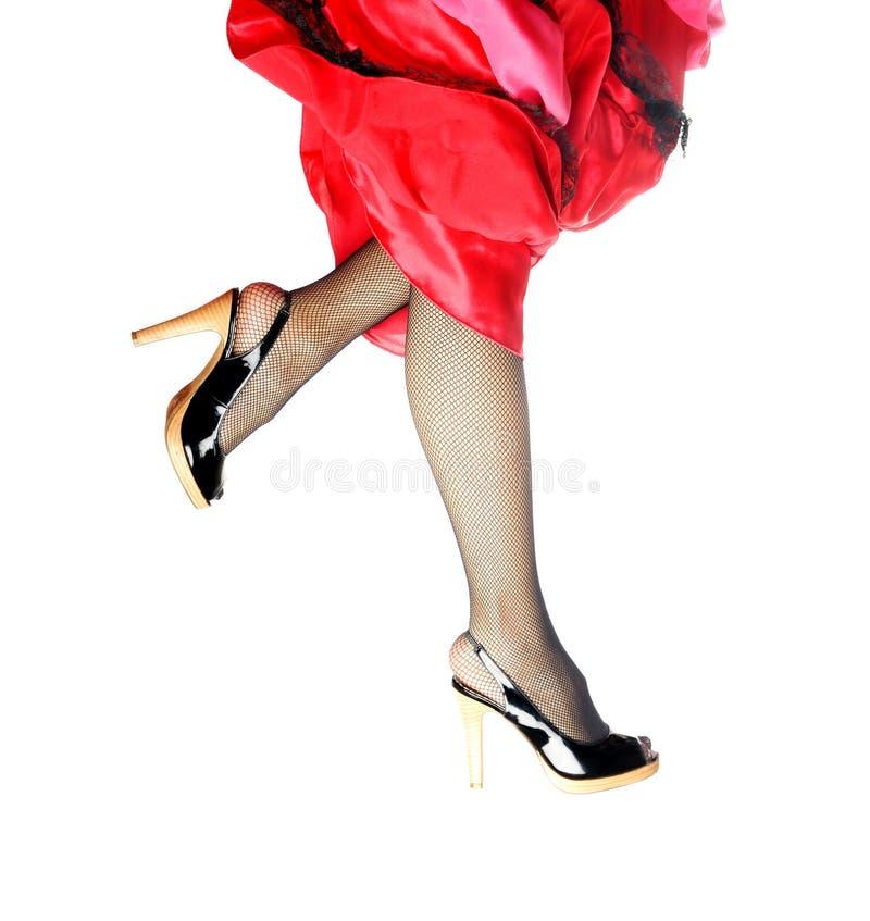 бег танцульки стоковое изображение rf