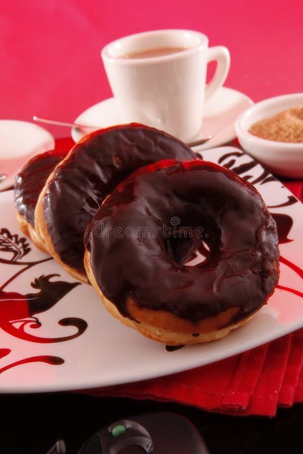 бег donuts стоковая фотография rf