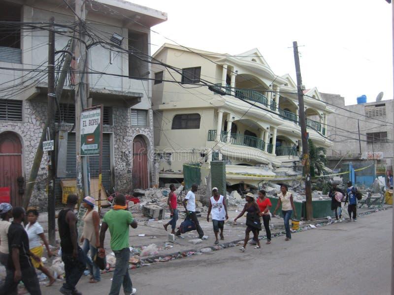 бедствие Гаити стоковые изображения