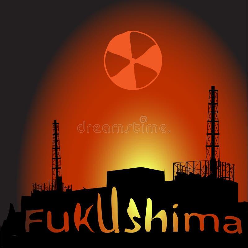 бедствие ядерное иллюстрация штока