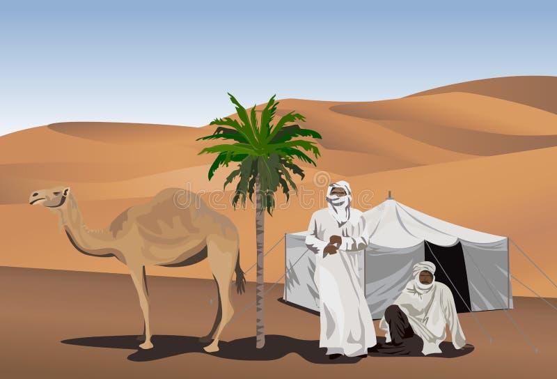 бедуины иллюстрация штока