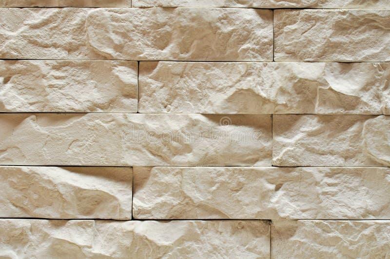 бежевая каменная стена стоковая фотография