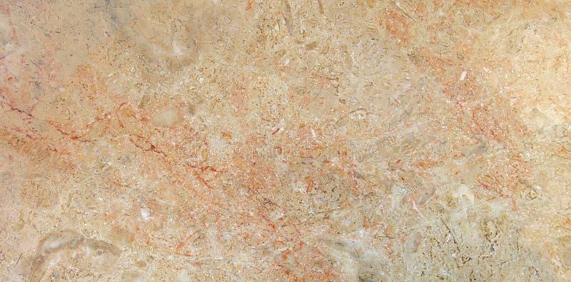 Бежевая мраморная естественная картина с оранжевых вен стоковые фото