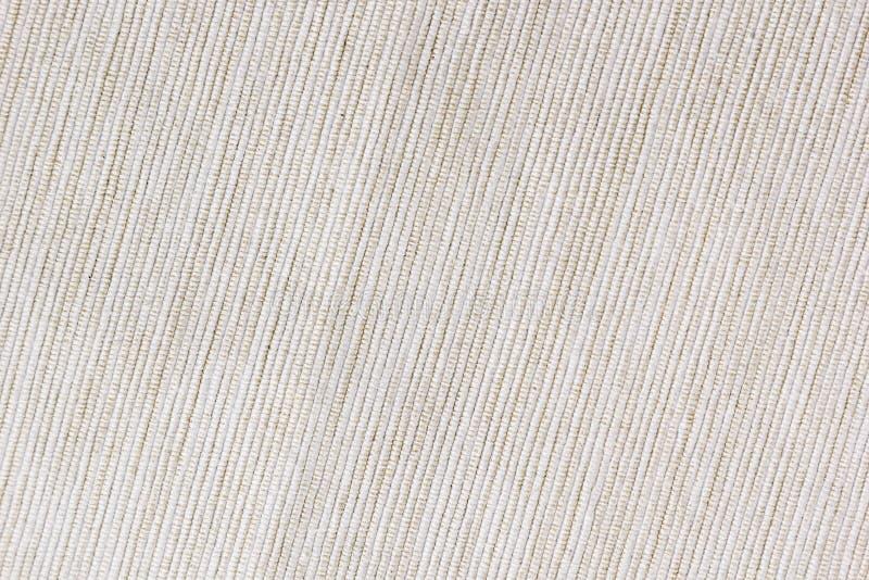 Бежевая ткань текстуры Ребристый холст стоковые изображения