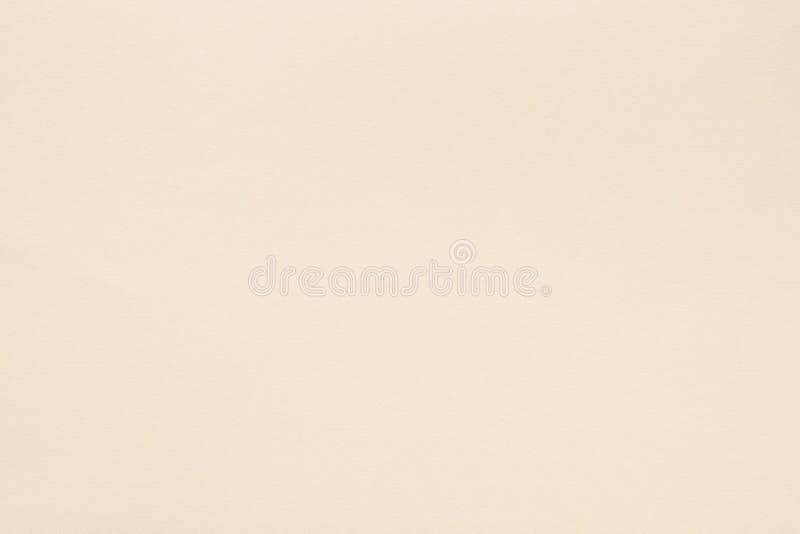 Бежевое бумажное зерно волокон предпосылки текстуры пустое стоковое фото rf