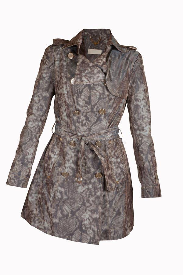 Бежевое пальто стоковые изображения rf