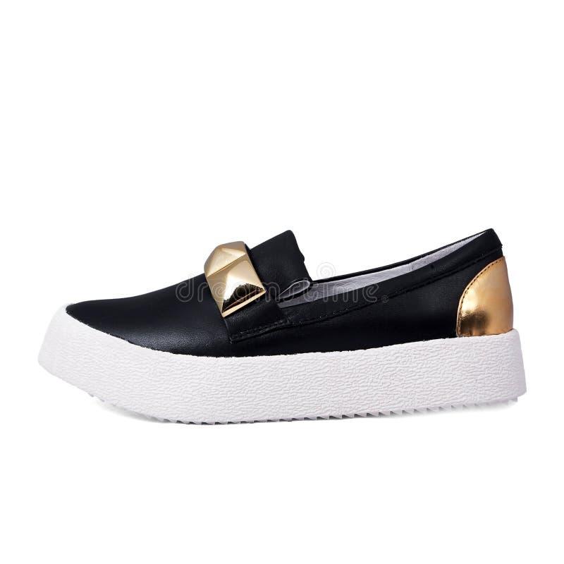бежевые ботинки стоковые изображения rf