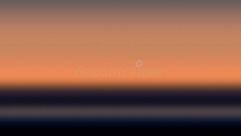 Бежевый свет предпосылки градиента неба, туман бледный бесплатная иллюстрация
