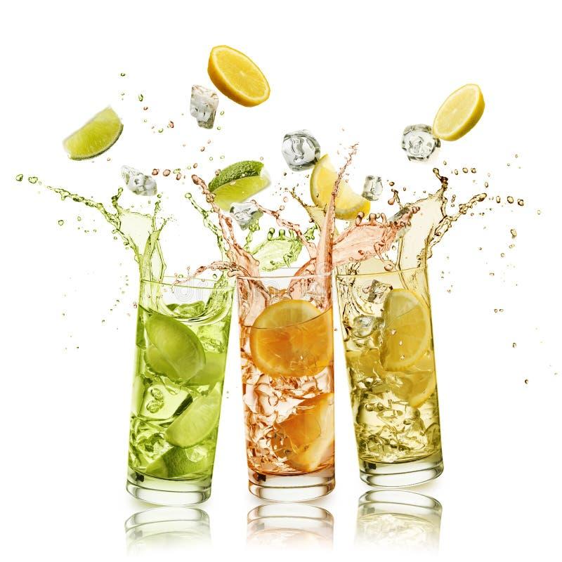 Безалкогольный напиток цитрусовых фруктов стоковое фото rf