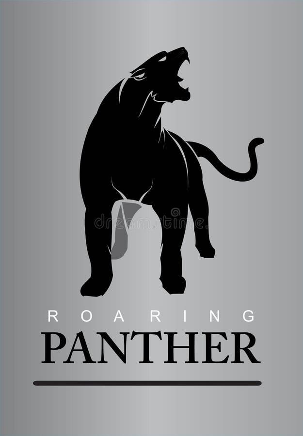 Безбоязненная пантера бесплатная иллюстрация