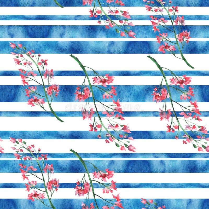 Безводная текстура, фон горизонтальные полосы, кисть Красивый удар, сплесень, абстрактное пятно иллюстрация штока