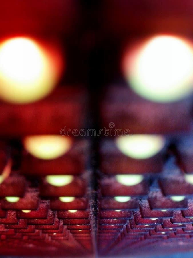безграничность матрицы стоковые фото