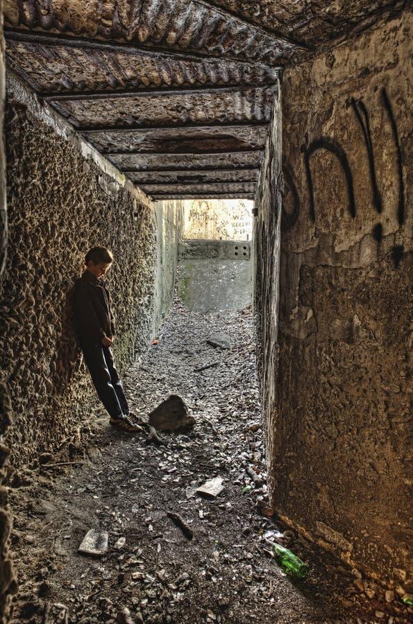 бездомное loney стоковое фото