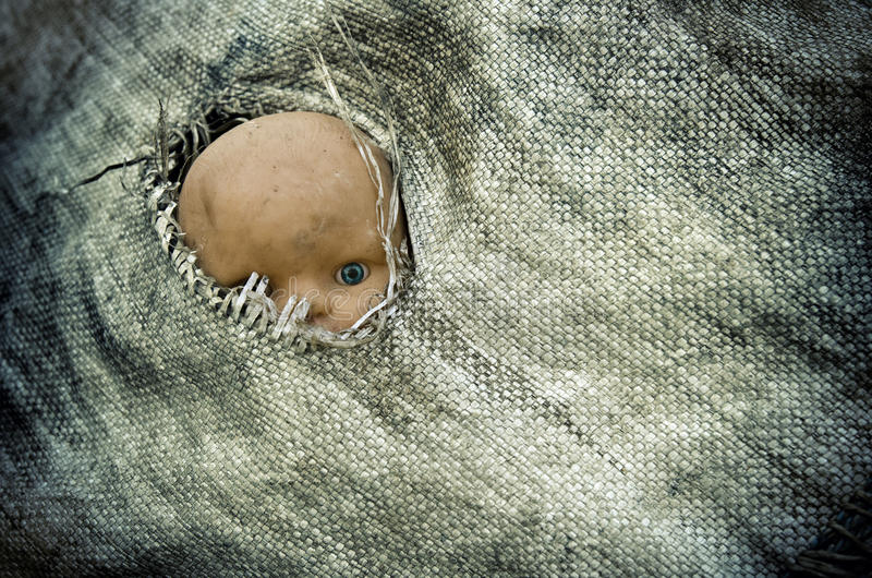 Бездомные дети стоковые фотографии rf