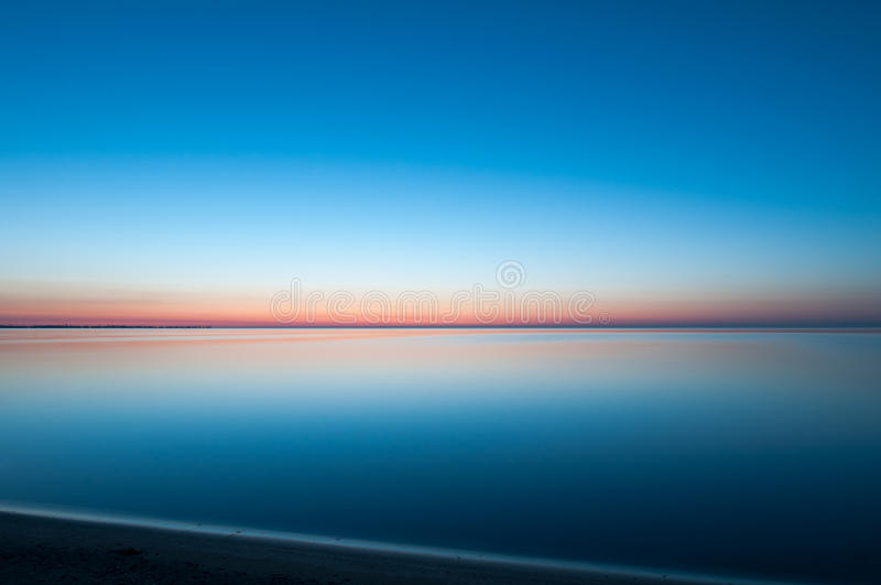 Безмятежность на Lake Erie стоковые фотографии rf