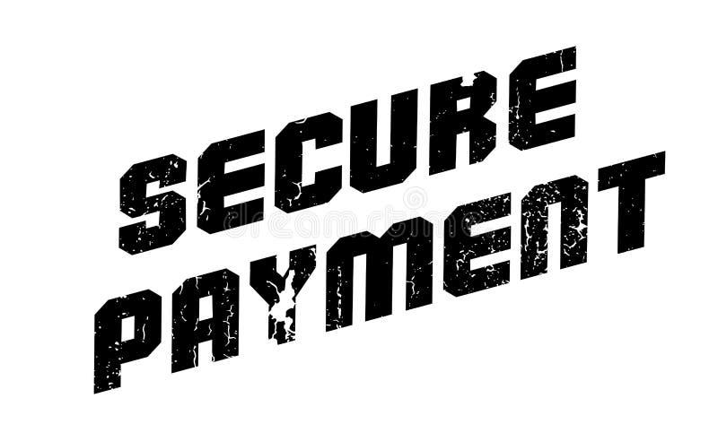 Безопасная избитая фраза оплаты бесплатная иллюстрация