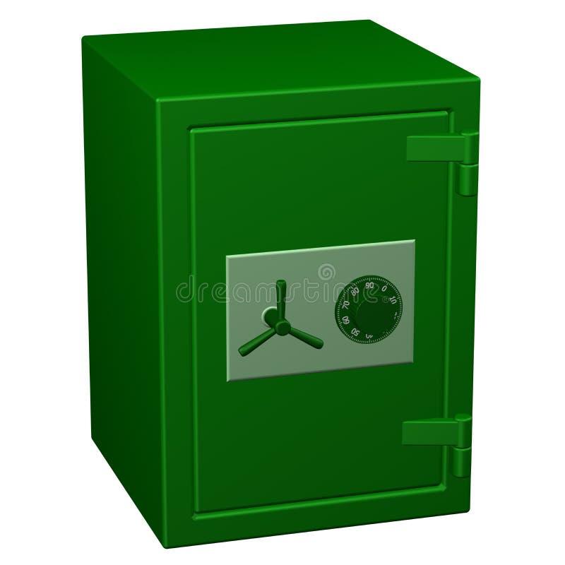 Безопасная коробка перевод 3d иллюстрация штока