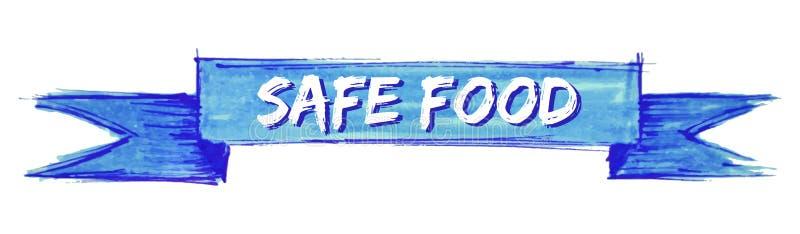 безопасная лента еды бесплатная иллюстрация