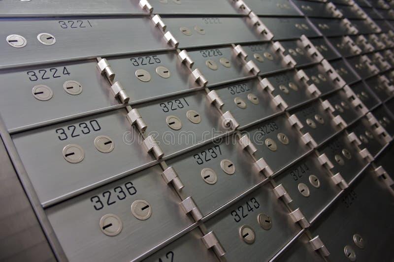 безопасность залеми коробок стоковое изображение
