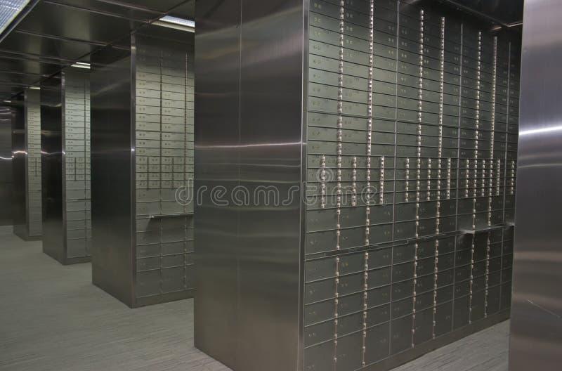 безопасность залеми коробок стоковое изображение rf