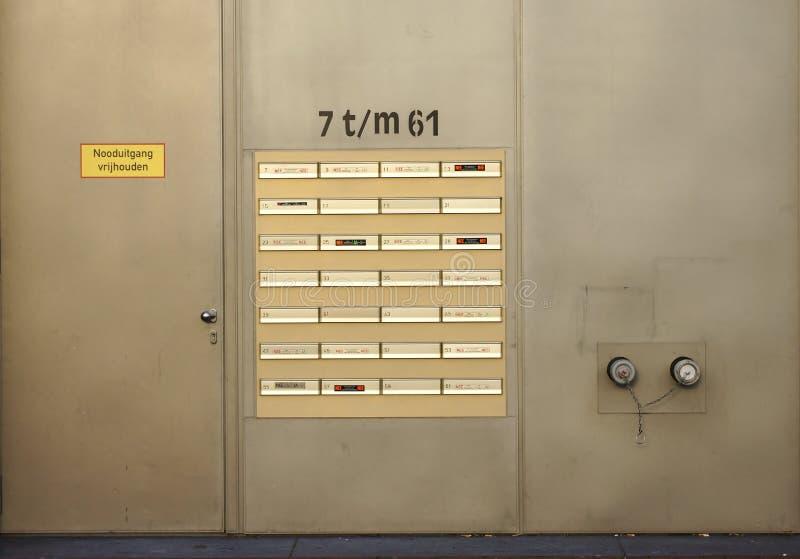 Безопасность здания стоковые фотографии rf