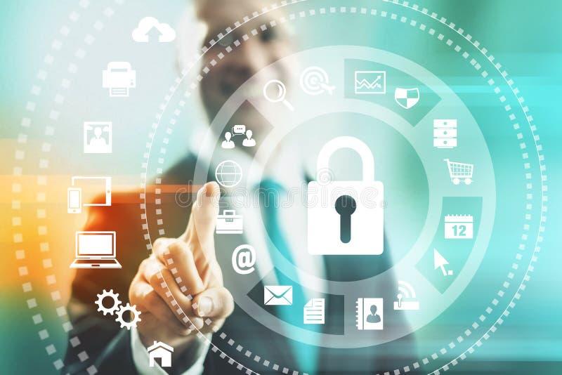 Безопасность интернета стоковые изображения rf