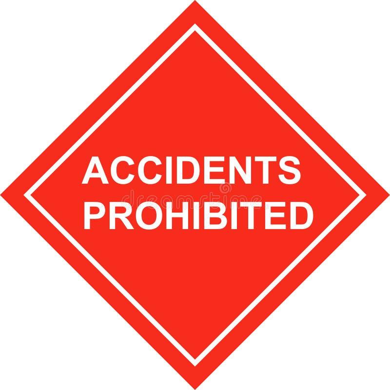 безопасность плаката аварий бесплатная иллюстрация