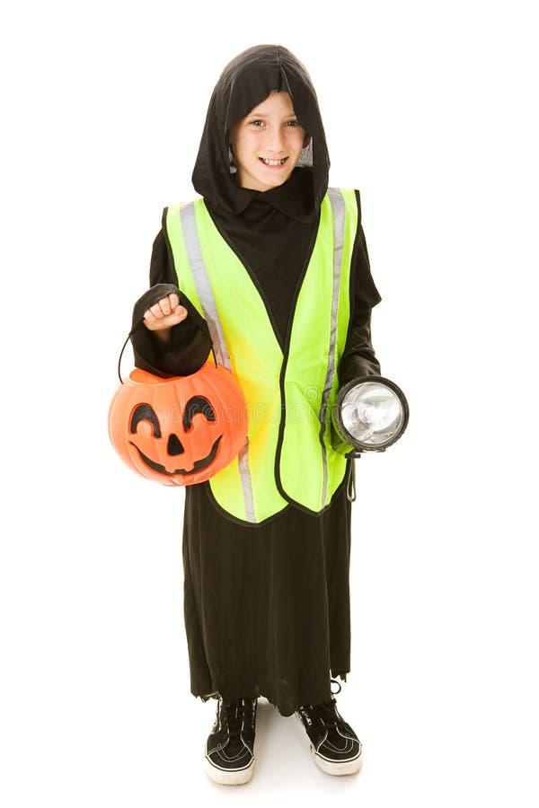 безопасность halloween стоковое изображение