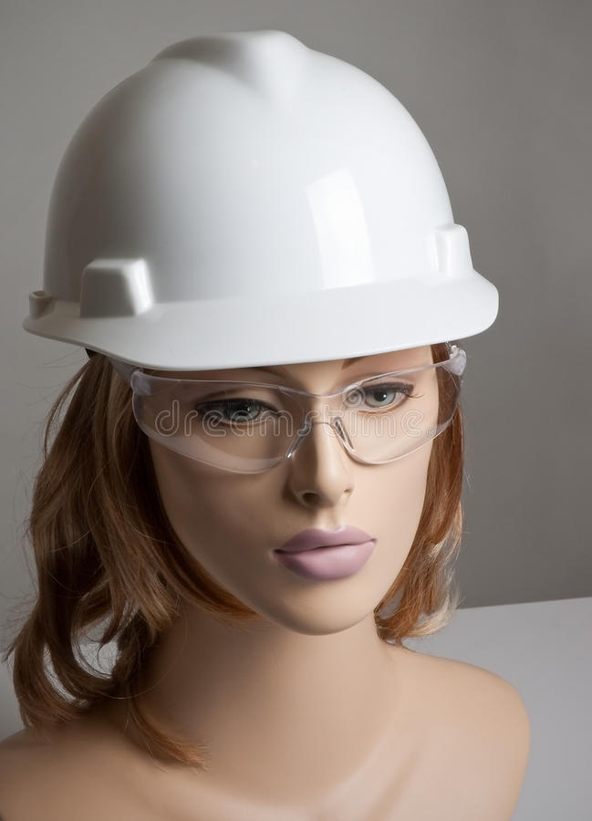безопасность manikin шлема стоковые изображения rf
