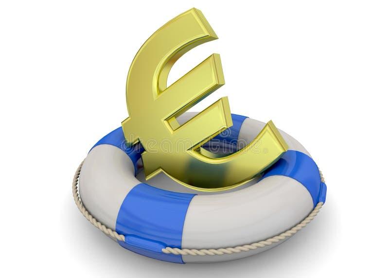 Безопасно концепция денег - 3D бесплатная иллюстрация