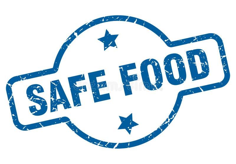 безопасные продовольственные талоны иллюстрация штока