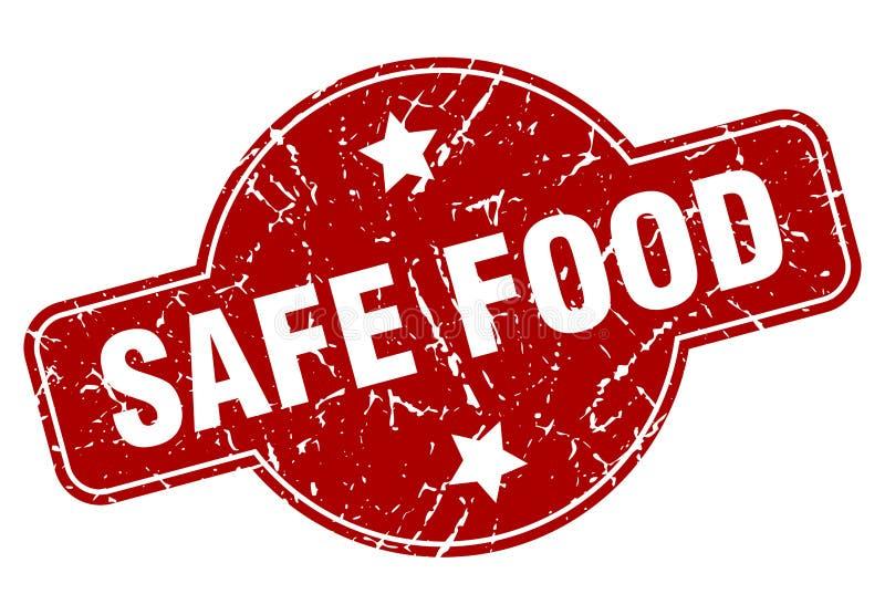 безопасные продовольственные талоны иллюстрация вектора