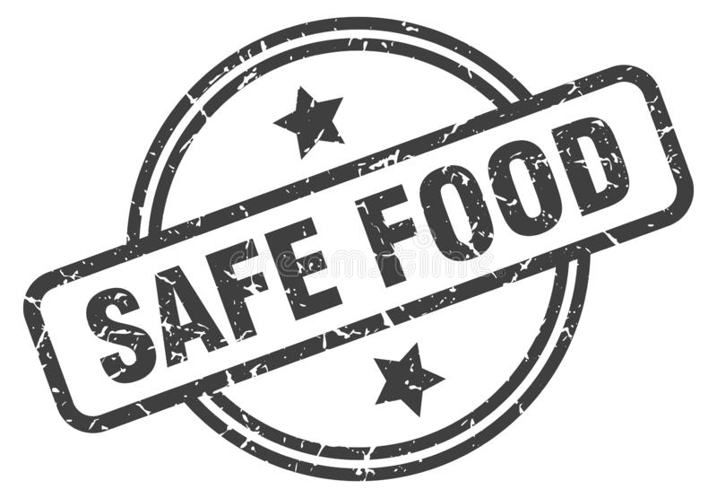 безопасные продовольственные талоны бесплатная иллюстрация