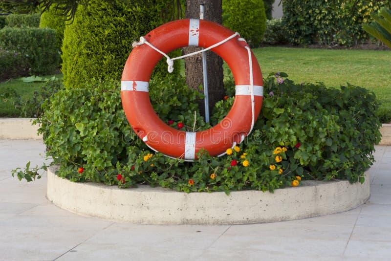 Безопасный круг с веревочкой стоковое фото