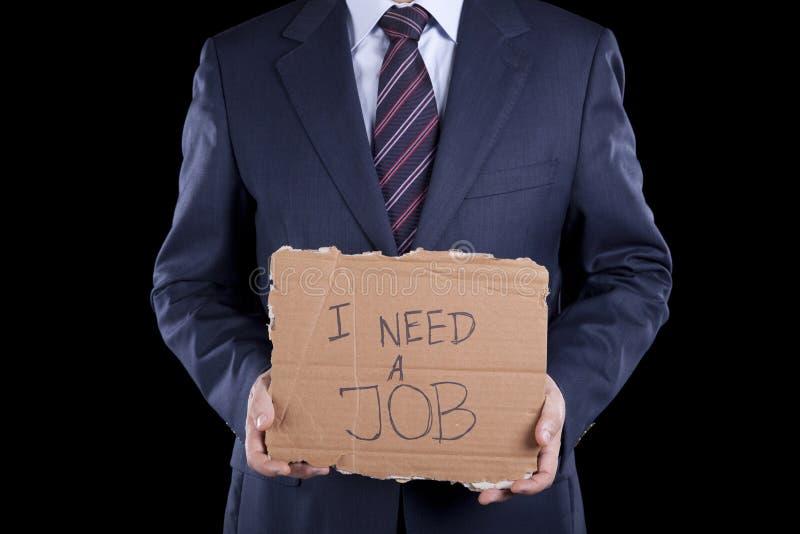 безработные бизнесмена стоковая фотография
