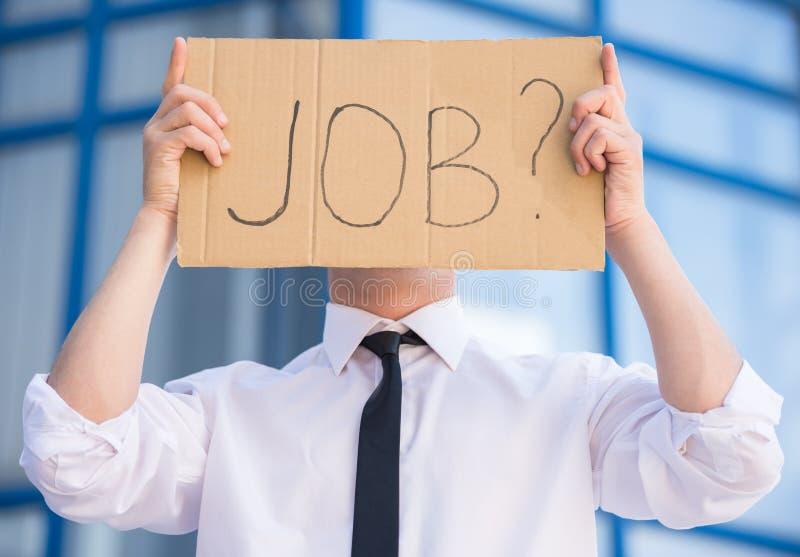 безработные человека стоковые изображения