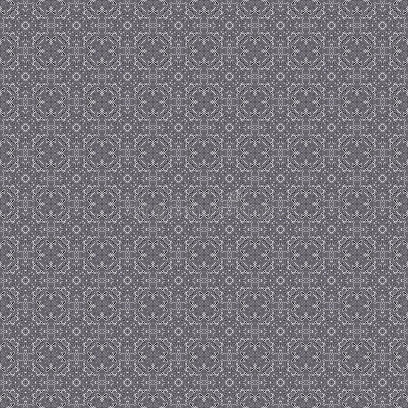 Безшовная абстрактная геометрическая greyscale картина бесплатная иллюстрация