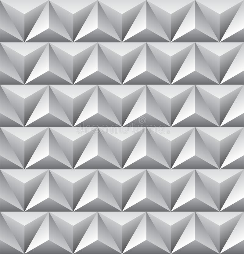 Безшовная абстрактная картина треугольника стоковое изображение