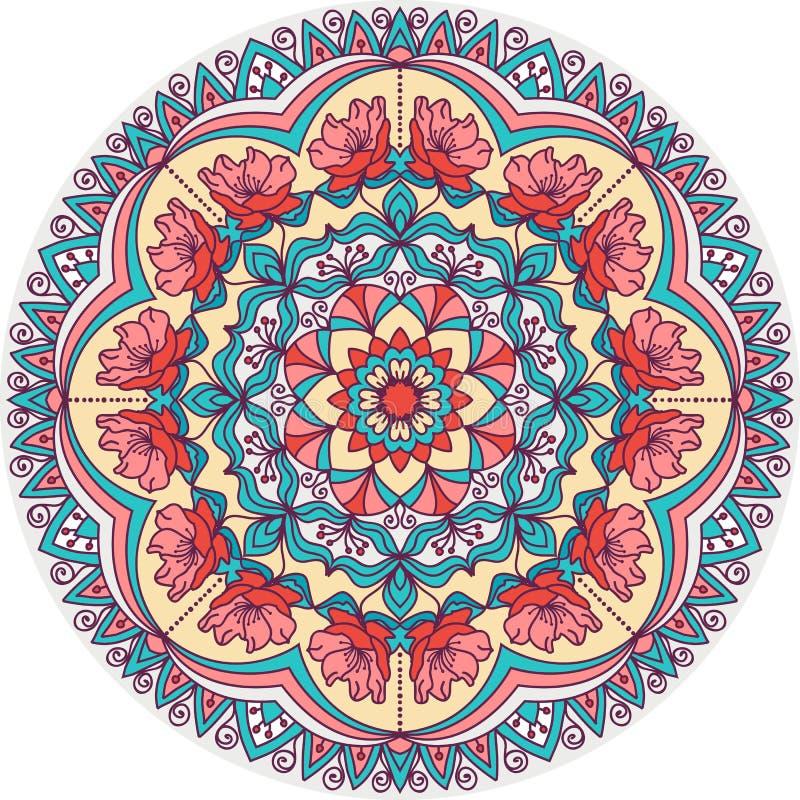 Безшовная абстрактная красочная картина заплатки бесплатная иллюстрация