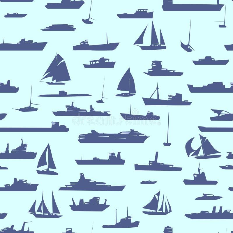 Безшовная абстрактная предпосылка шаржа с много грузит. иллюстрация штока