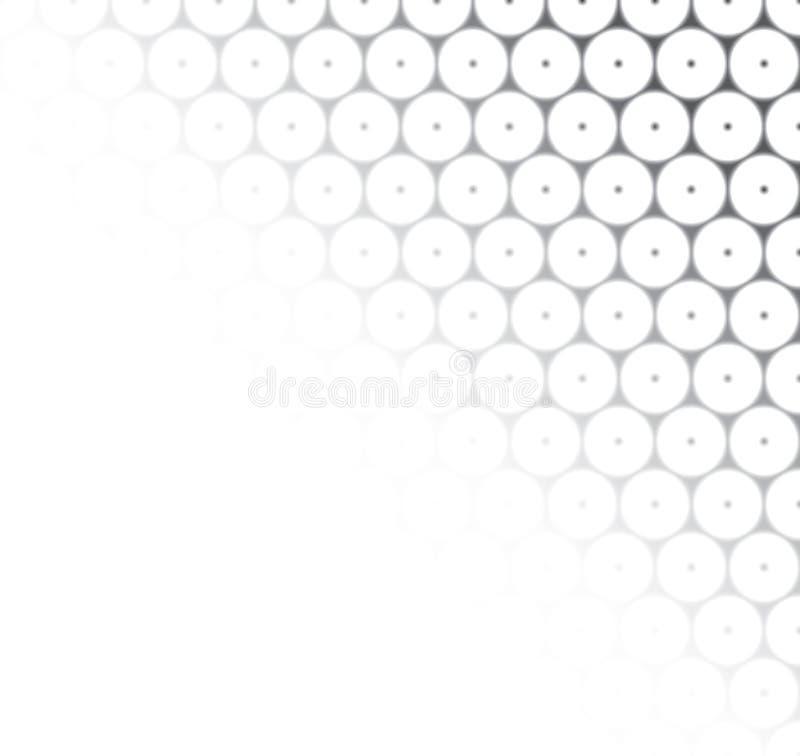 Безшовная абстрактная серая и белая картина текстуры иллюстрация штока