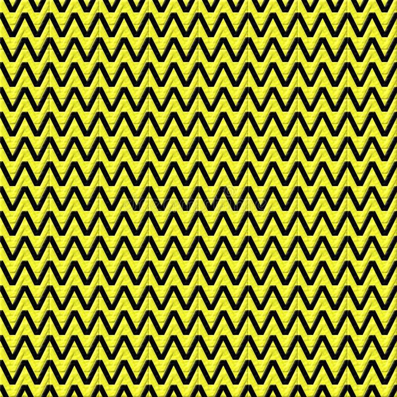 Безшовная абстракция текстуры желтых и черных цветов стоковые фотографии rf