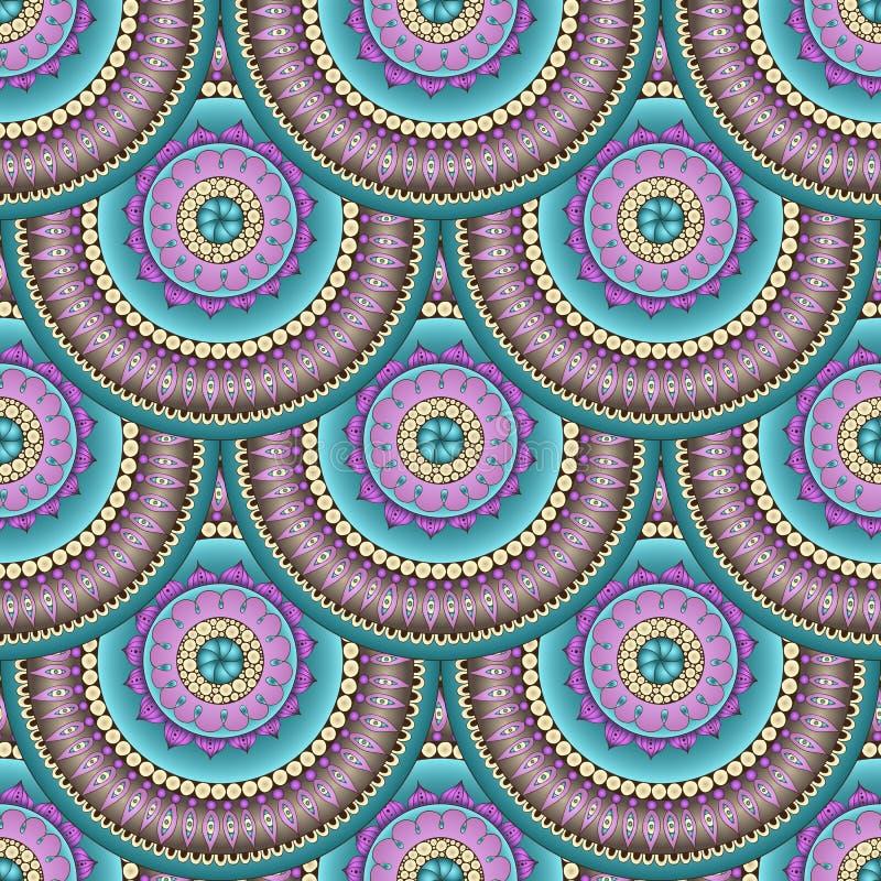 Download Безшовная геометрическая картина в конструкции маштаба рыб Иллюстрация вектора - иллюстрации насчитывающей иллюстрация, бумага: 40586037