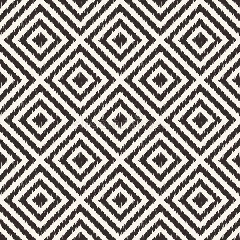 Безшовная геометрическая картина сетки косоугольника иллюстрация штока